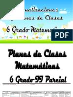 6to - Matemáticas - Planes II.docx