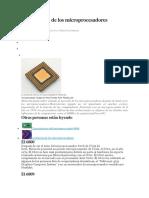 La Evolución de Los Microprocesadores Motorola
