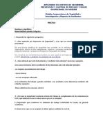 Práctica-Inspecciones de Seguridad e Investigación y Reporte de Incidentes