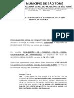 Manifestação - Impossibilidade de RPV Em Valor Superir Ao Benefício Do RGPS - AGU - Vara Federal