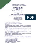 CARMEN Charles Gaudier