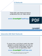GRE Math Flashcards - GreenlightTestPrep