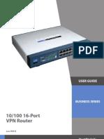 Router Cisco RV016