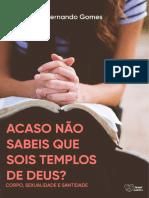eBook Acaso Não Sabeis Que Sois Templos de Deus v7