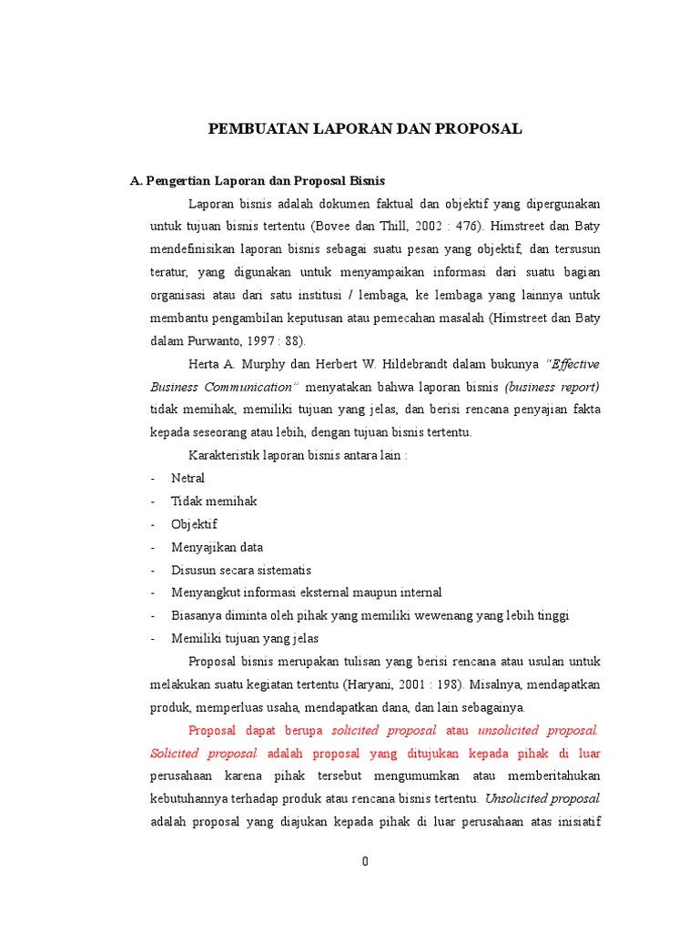 Pembuatan Laporan Dan Proposal 1
