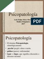 PSICOPATOLOGIA 2017