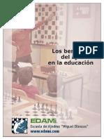 Los beneficios del ajedrez en la educación