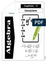 Algebra (v) Inecuaciones