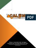 Carta de Presentacion Calymet 2016