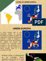 America Latina vs Union Europea