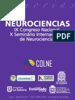 Memorias Ix Congreso Nacional de Neurociencias Final