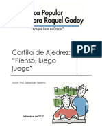 Cartilla de  Ajedrez