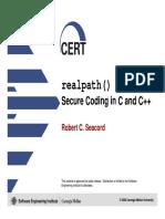 realpath()