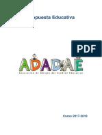 Ajedrez Educativo Curso 2017 2018