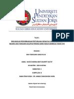 Bincangkan Perkembangan Pertubuhan Serantau Dalam Kalangan Negara Asia Tenggara Selepas Perang Dunia Kedua Sehingga Tahun 1970.PDF