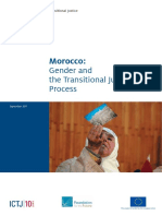 ICTJ. Morocco. Gender and the Transitional Justice Process. 2011