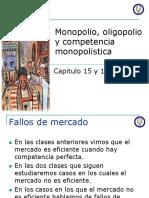 Monopolio y Oligopolio