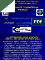 Elaboracion de Estudio de Impacto Social en Mineria