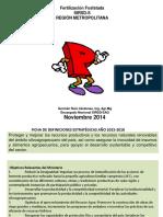 Curso SAG Fertilizacion P Región RM. 2014 Nov