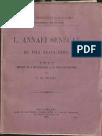 1909.Viata Si Operele Lui Seneca