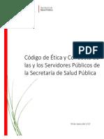 Codigo Etica Conducta SSP 2017 2