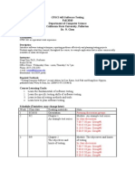 CPSC 463 Syllabus Fall 2010