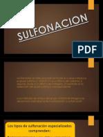 sulfonacion