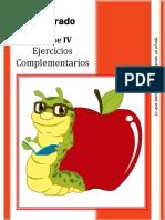 1er Grado - Bloque 4 - Ejercicios Complementarios