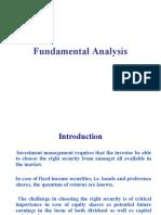 4 Fundamental Analysis