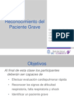 Paciente Grave MINSAL 2015