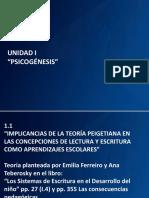 IMPLICANCIAS TEORÍA PIAGETIANA 2018-ppt