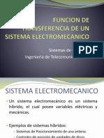 Funcion de Transferencia de Un Sistema Electromecanico