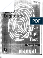 Test DeLos 5Digitos
