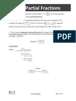 C13 IntegrationbyPartialFractions BP 9-22-14