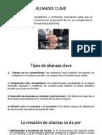 Alianzas y Estructura de Costos