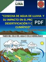 Cosecha Del Agua de Lluvia 2 y Su Impacto en El Proceso de Desertificación y Cambio Climático 2017 - Unc