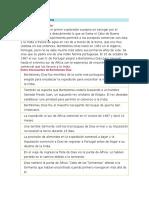 Datos de Bartolomeu Dias
