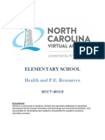 Elementary Health and PE Resource Guide 2017-2018