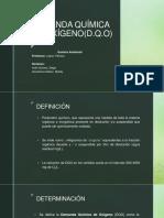 Demanda Química de Oxígeno(Dqo)