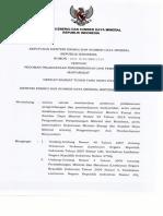 Keputusan Menteri ESDM Nomor 1824 K 30 MEM 2018