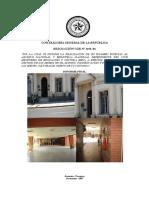 Contraloría General de La Nación-Informe Final Sobre La Biblioteca y Archivo Nacional Del Paraguay