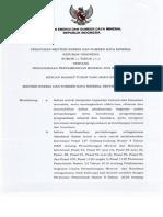 Permen ESDM No. 25 Tahun 2018 Tentang Pengusahaan Pertambangan Mineral Dan Batubara