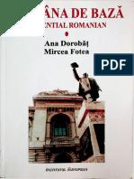 Romana de baza. Essential Romanian - Ana Dorobat. Mircea Fotea. Vol. I.pdf
