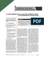 Reglamento de La Ley de Servicio Civil y Los Derechos Colectivos From Administracion Publica y Control 07