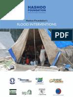 Hashoo Foundation's Flood Interventions