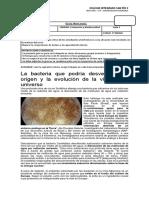 Guia de noticia cientifica 1°Medio