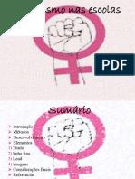 Feminismo Nas Escolas