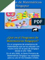 Programa Singapore Matematica
