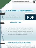 2.4.2 Efecto de Baloneo