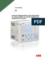 Manual REF 615 IEC 61850